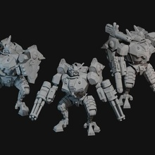 main battlesuit builder space communist battlesuit 40 crisis war hammer marine empire wargame miniature 28mm