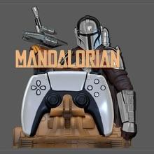 Mandalorianer ps5 ps4 Regler Halter Unterstützung Modell Krieg Sterne Disney Mandalorianer beskar Rüstung Krieg Sterne Disney moff Gideon Dunkelschwert dunkel Säbel ps4 ps5 Regler Halter Unterstützung