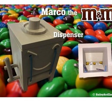 marco m&m dispenser game mechanical toys zack vending machine vending toys toy science rubber band riverfield rcds project plastic physics mms mm mechanical marco machine food dispenser chocolate candy baileyandzack bailey assembly  3d printer 3d printed