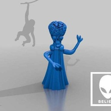 mars attacks alien creature ad ad ad ad ad art sculptures
