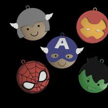 merveille super héros porte clés pack clé porte clés merveille super héros homme araignée homme fer capitaine Amérique ponton Thor enfants