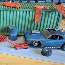 matchbox hotwheels Auto jack - 1 64 20mm gaslands Spiel 164 20mm Auto Auto jack gaslands jack mini Spiele