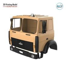 maz 5516 militare cabina professionale versione maz 5516 militare veicolo macchina pesante caricare camion ruota gigante mercedes benz camion cabina stampabile corpo tamiya settore automobilistico