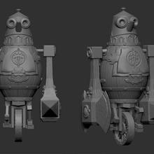 mechanical golem fan-art mechanical golem lineage2 l2 dwarf blacksmith mmorpg