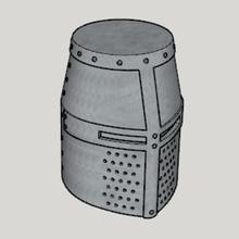 medieval great helm standard ver full size ver art ver size full ver standard helm great medieval