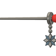 mei's hair pin fashion female gaming game mei overwatch hair hair pin hair piece hair-pin hair-piece pin cosplay cosplayer scientist ice star rod kanzashi head-gear head gear head piece head-piece