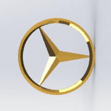 mercedes logo porte-clés divers les touches la porte