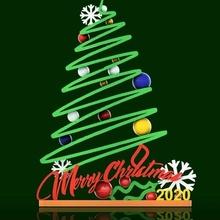 fröhlich Weihnachten 2020 joyeux Noel Sapin Halter Unterstützung 3d Haus Sortimente Modell ps4 Schalter Zubehör Prusa pla Kunst fröhlich Weihnachten glücklich Neu