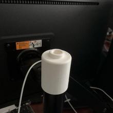 mic mount monitor arm pole