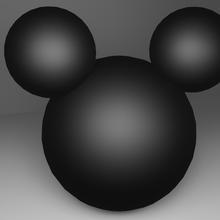 Mickey mouse cabeza jouet art jouet Mickey Mickey Souris dessin animé Souris personnage