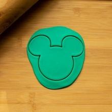 Mickey fare baş kurabiye kesici Mickey fare baş kurabiye kesici