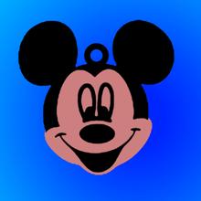 Mickey Souris porte clés clé bague Mickey Souris disney