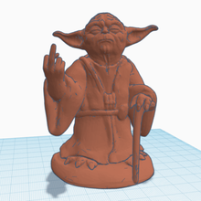 middle finger yoda becauseitspossible decoration finger force middle middle finger star starwars the force wars yoda decor