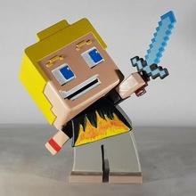 Minecraft figurine figurine Minecraft art art jouet jouet personnage