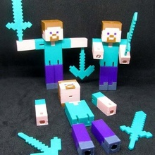 Minecraft steve articolato Minecraft Minecraft figure Minecraft steve steve toy_game_accessories