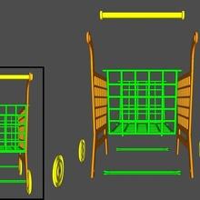 mini basket trolly trolly toy basket