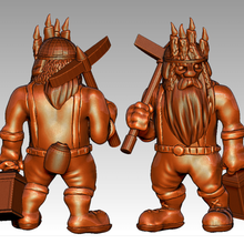 miniature - dwarf miner 2017 game toy game accessories sigmar pathfinder mordheim miner frostgrave dwarves dwarfs dwarf dungeons dragons dnd age sigmar age