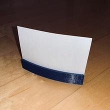minimalista curvo single attività commerciale carta In piedi attività commerciale carta In piedi curvo minimalista moderno