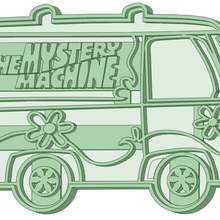 mistery machine cookie cutter the mistery machine cookie cutter scooby doo