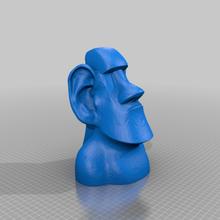 Moai Gözlük maske Kulp destek rafine Gözlük