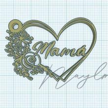 mom heart keychain key ring mom heart mum key chain mother mother key chain mother heart mum heart keys