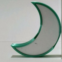 lune boîte boîte lune boîte lunaire croissant lune
