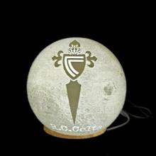 Luna lámpara céltico fútbol equipo vigo lámpara Luna fútbol equipo pelota decoración Encendiendo ligero céltico vigo