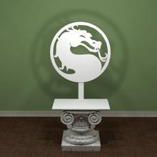 mortal kombat logo art segni loghi segno mortal kombat mortale il logo kombat di gioco giochi emblema il combattimento