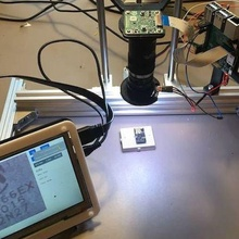 motorized microscope hq camera raspberry pi python html interface gadget microscope camera hq raspberry pi