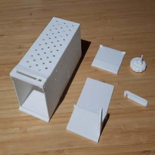mouse trap humane friendly easy print easy assembly fully printable home pets trap print mouse trap mouse humane friendly easy print easy print easy assembly easy assembly
