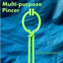 multipurpose pinch tool nipper folds mordacious clean hand useful multi-purpose cat litter clean litter clean cat litter