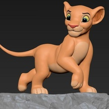 nala lion king animal nala simba lion king king lion toy figurine pumba zazou lion