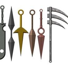 naruto per la raccolta di armi vari naruto l'arma kunai spada ascia ninja shinobi anime cosplay manga giappone hokage shippuden fantasia