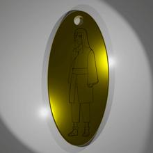 neji hyuga portachiavi gioielli neji hyuga degli hyuuga naruto shippuden chiave catena oro anime kfels88