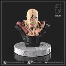 nemesi residente male 3 2 nemesi gioco cattivo ospite zombie stl 3d 3dprint scultura orrore