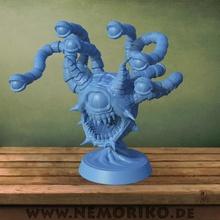 nemoriko s beholder tabletop  game beholder observer eye eyes tabletop dnd d&d dungeons dragons 3dprint 3d print 3dprinting 3d printing miniatur figur model sculpt monster creatur 3d design