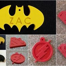 nice superman pendant dog mascot animal go plate id cat nice necklace superman