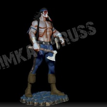 night wolf art mk mortal kombat subzero game character fight muscle fighter axe movie hero wolf indian warrior apache soldier mask miniatures figurines