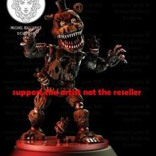 pesadilla Freddy creativo friki mb Siniestro gracioso monstruo osito peluche juguete lindo videojuego