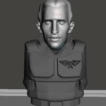 Nikola tesla 28mm juego guerra cabeza guardias Guardia am ig imperial Guardia 40k martillo guerra cadian cadia dkok guerra martillo juego guerra ciencia ficción 28mm