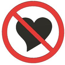 no sign love - sign art lammesky funny sign sign love play love action warning love sign love heart break heart breaking