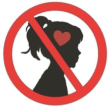 no young love - sign art girl love young love no marriage no love falling love no love sign funny sign lammesky