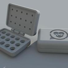 burocrazia scatola caja parà boquillas creatori scatola ugello estrusore boquillas impressione stampa 3d caja