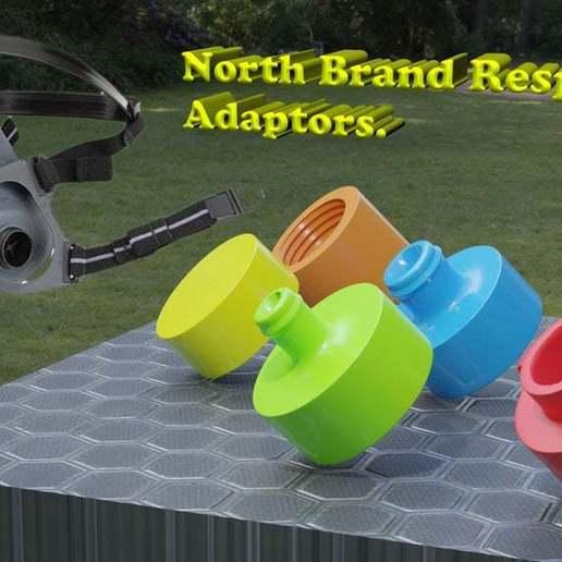 north brand respirator ad