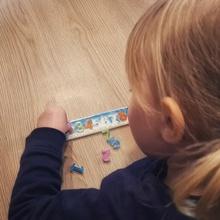 number puzzle child puzzle figures child montessori