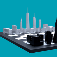 nyc chess pieces game decorative decor art game tower love nyc architecture buildings new york nyc chess