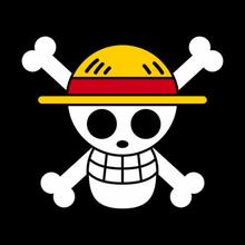 one piece - jolly roger mugiwaras - straw hat art one piece jolly roger anime lufy straw shading
