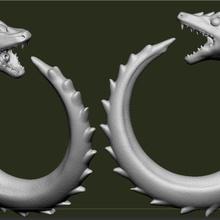 ouroboros naughties dildo dragon