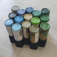 vernice stand - vallejo esercito - 9 15 27 strumento su misura tenere premuto titolare in miniatura le miniature modello la vernice la pittura stand in piedi utensili scatole