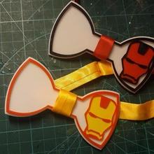 pajarita ironman - ironman bow tie fashion pajarita personarizada pajarita ironman vengadores avengers bow tie ironman pajarita pajarita ironman